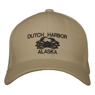 Niederländische gestickter Hut Hafen-Alaskas Bestickte Baseballmütze