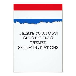Niederländische Holland-Flagge Karte