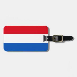 Niederländische Holland-Flagge Kofferanhänger
