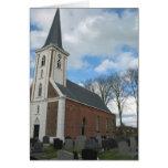 Niederländische Kirchen-Anmerkungs-Karte