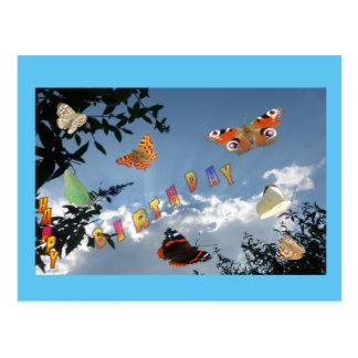 Niederländische Schmetterlinge Cust. Postkarte