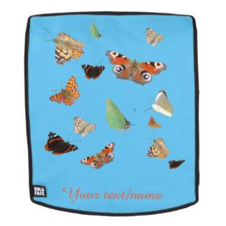 Niederländische Schmetterlinge kundengerechtes Rucksack