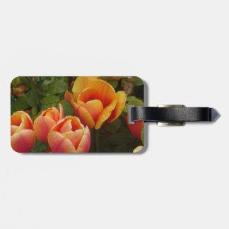 Niederländische Tulpen Kofferanhänger