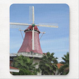 Niederländische Windmühle Aruba Mousepad