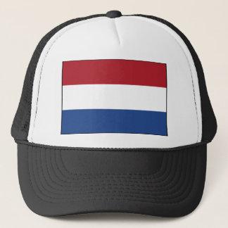 Niederländischer Flaggen-Hut Truckerkappe
