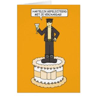 Niederländischer homosexueller Geburtstag, für Grußkarte