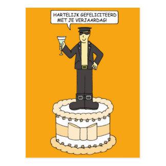 Niederländischer homosexueller Geburtstag, für Postkarten