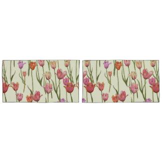 Niederländisches Tulpe-Kissen-Hüllenen-Set Kissen Bezug