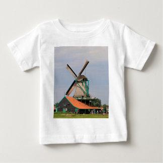 Niederländisches Windmühlendorf, Holland 3 Baby T-shirt