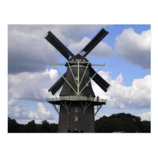 Niederländisches Windmühlenplakat Postkarte
