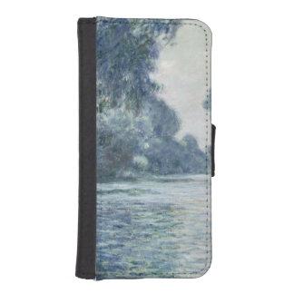 Niederlassung Claude Monets   der Seines nahe iPhone SE/5/5s Geldbeutel