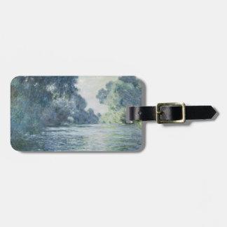 Niederlassung Claude Monets | der Seines nahe Kofferanhänger
