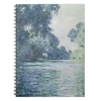 Niederlassung Claude Monets | der Seines nahe Notizblock
