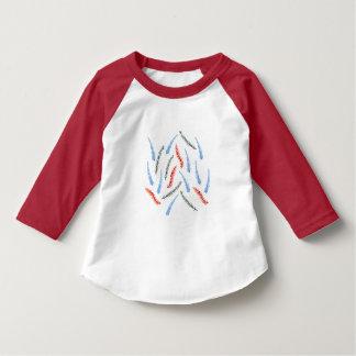 Niederlassungs-Kleinkindraglan-T - Shirt