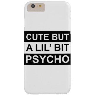 niedlich aber ein lil gebissenes psychisches barely there iPhone 6 plus hülle