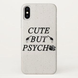Niedlich aber psychisch iPhone x hülle