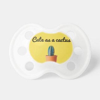 Niedlich als Kaktus - Schnuller