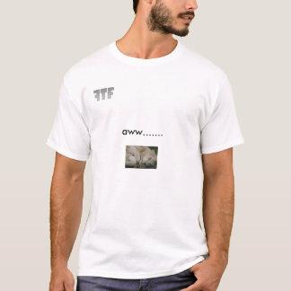 Niedlich-Foto-vonlöwe, FTF, aww ....... T-Shirt