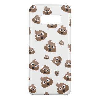 Niedlich kacken Sie Emoji Muster Case-Mate Samsung Galaxy S8 Hülle