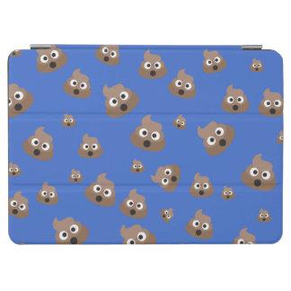 Niedlich kacken Sie Emoji Muster iPad Air Cover