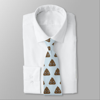 Niedlich kacken Sie Muster - entzückende Stapel Personalisierte Krawatte