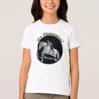 Niedlich mein Obsessions-Pferdepullover-T - Shirt