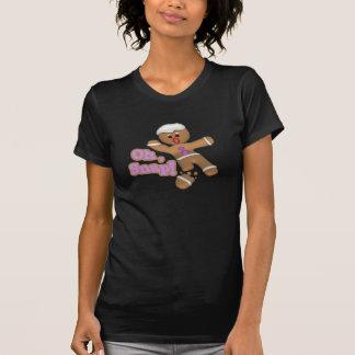 niedlich oh, Schnelllebkuchenmannplätzchen T-Shirt