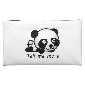 Niedlich sagen Sie mir mehr Panda Kosmetiktasche
