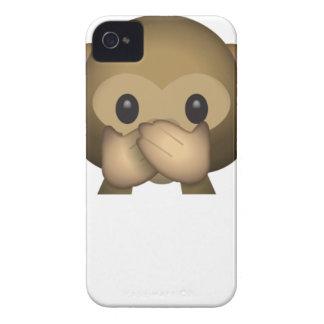 Niedlich sprechen Sie keinen schlechten Affen Case-Mate iPhone 4 Hüllen