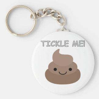 Niedlich Tickle mich kacken Emoji Schlüsselanhänger