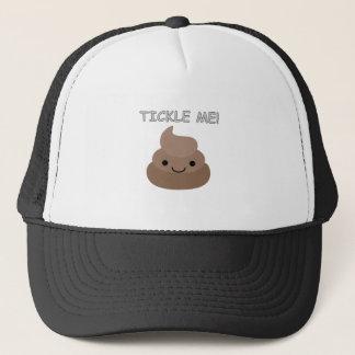 Niedlich Tickle mich kacken Emoji Truckerkappe