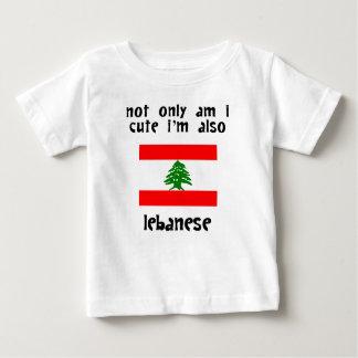 Niedlich und libanesisch baby t-shirt