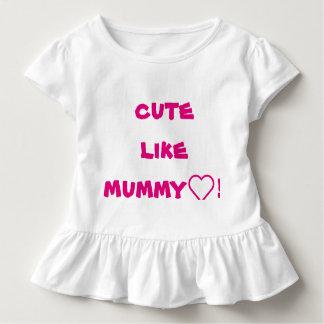 niedlich wie Mama! Kleinkind T-shirt