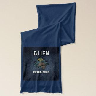 Niedliche alien-Reservierungs-Art Schal