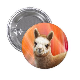 Niedliche Alpaka-Knöpfe Runder Button 2,5 Cm