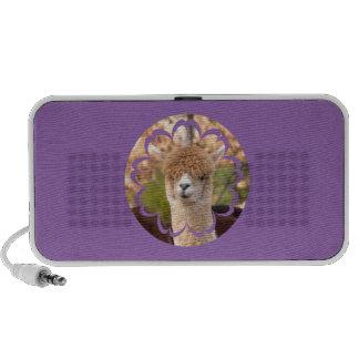 Niedliche Alpaka-Lautsprecher Lautsprecher