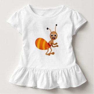 Niedliche Ameise Kleinkind T-shirt