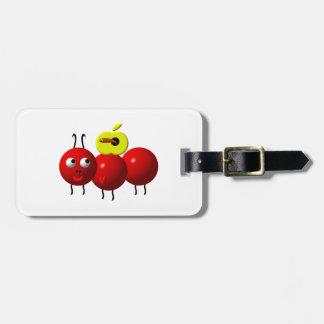 Niedliche Ameise mit Apple Kofferanhänger