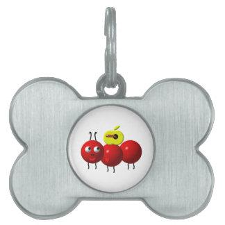 Niedliche Ameise mit Apple Tiermarke