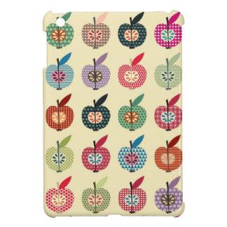 Niedliche Äpfel in der Retro Art Hülle Für iPad Mini