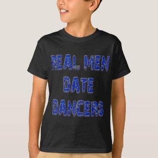 Niedliche Arbeitswalze, exotischer Tänzer-Waren T-Shirt