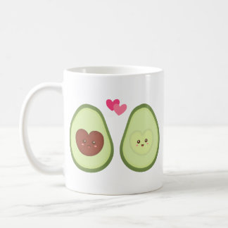 Niedliche Avocadopaare in der Liebe, meine andere Kaffeetasse