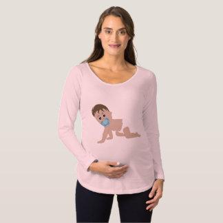 Niedliche Baby-Mutterschafts-Shirts Schwangerschafts T-Shirt