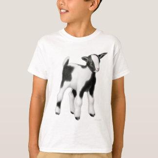 Niedliche Baby-Ziege scherzt T - Shirt