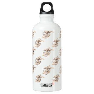 Niedliche bengalische Kätzchen-Ausdehnung Aluminiumwasserflasche