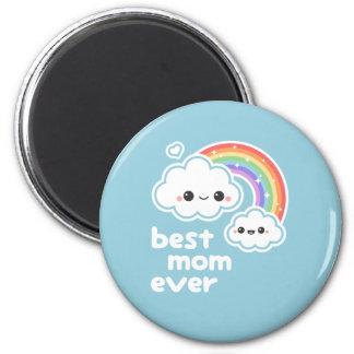 Niedliche beste Mamma Runder Magnet 5,7 Cm