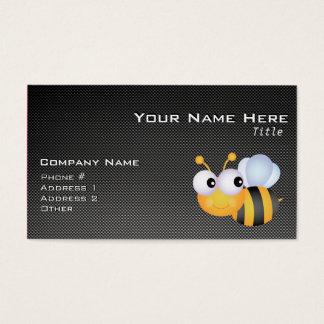 Niedliche Biene; Glatt Visitenkarte