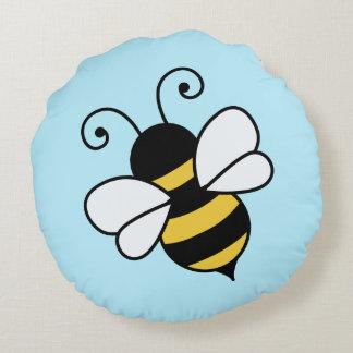 Niedliche Biene Rundes Kissen