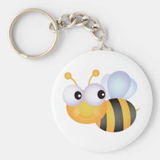 Niedliche Biene Schlüsselanhänger