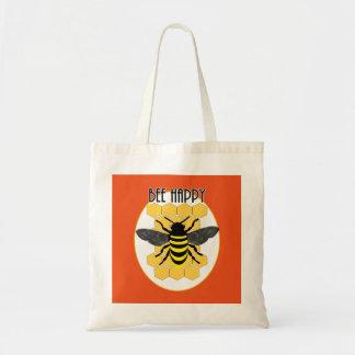 Niedliche Bienen-glückliche Tragetasche